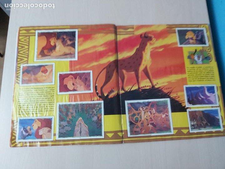 Coleccionismo Álbum: ALBUM DE CROMOS EL REY LEON EDICIONES PANINI 1995 COMPLETO - Foto 7 - 220234703