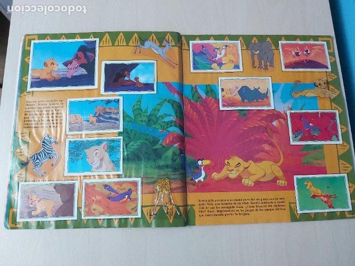 Coleccionismo Álbum: ALBUM DE CROMOS EL REY LEON EDICIONES PANINI 1995 COMPLETO - Foto 9 - 220234703