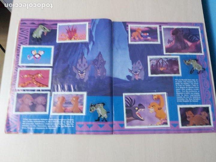 Coleccionismo Álbum: ALBUM DE CROMOS EL REY LEON EDICIONES PANINI 1995 COMPLETO - Foto 11 - 220234703