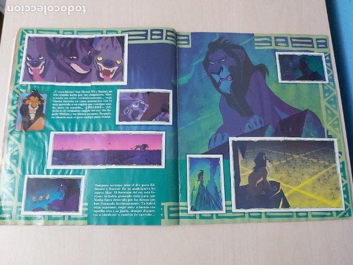 Coleccionismo Álbum: ALBUM DE CROMOS EL REY LEON EDICIONES PANINI 1995 COMPLETO - Foto 12 - 220234703