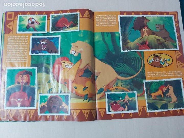 Coleccionismo Álbum: ALBUM DE CROMOS EL REY LEON EDICIONES PANINI 1995 COMPLETO - Foto 17 - 220234703