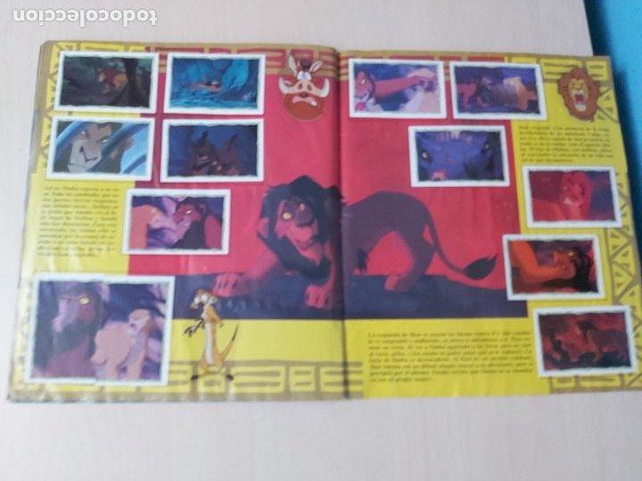 Coleccionismo Álbum: ALBUM DE CROMOS EL REY LEON EDICIONES PANINI 1995 COMPLETO - Foto 20 - 220234703