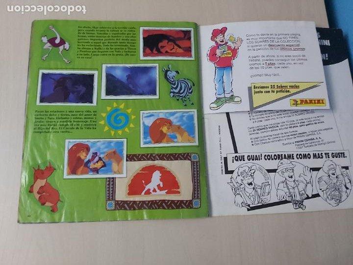 Coleccionismo Álbum: ALBUM DE CROMOS EL REY LEON EDICIONES PANINI 1995 COMPLETO - Foto 21 - 220234703