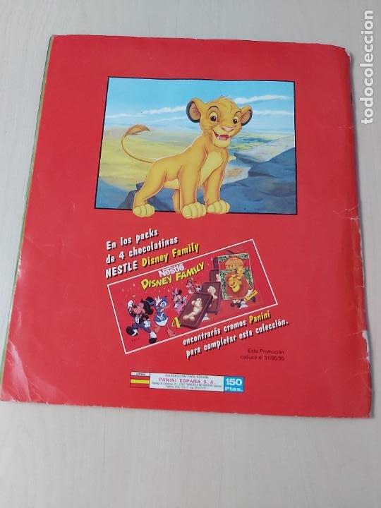 Coleccionismo Álbum: ALBUM DE CROMOS EL REY LEON EDICIONES PANINI 1995 COMPLETO - Foto 22 - 220234703