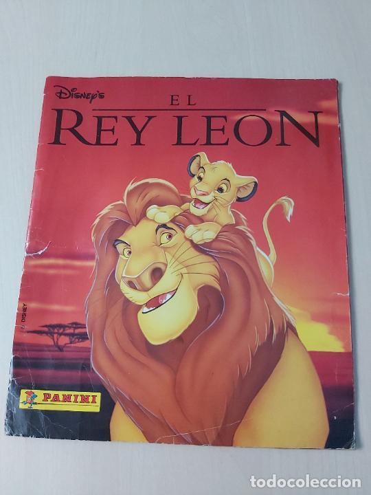 ALBUM DE CROMOS EL REY LEON EDICIONES PANINI 1995 COMPLETO (Coleccionismo - Cromos y Álbumes - Álbumes Completos)