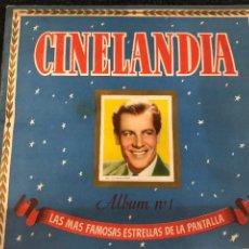 Coleccionismo Álbum: ALBUM COMPLETO CINELANDIA N.1 EDITORIAL BRUGUERA. Lote 220275845