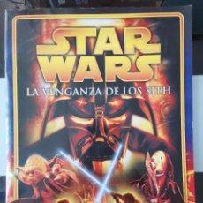 Coleccionismo Álbum: ALBUM CROMOS STAR WARS LA VENGANZA DE LOS SITH MERLIN EPISODIO III COMPLETO MBE. Lote 220707186