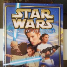 Coleccionismo Álbum: ÁLBUM CROMOS STAR WARS EPISODE II ATTACK OF THE CLONES MERLIN TOPPS COMPLETO. Lote 220707375