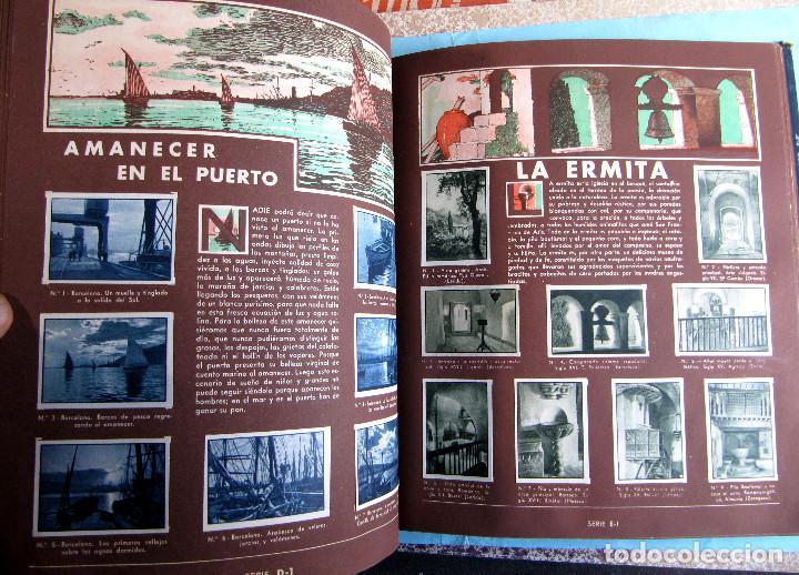 Coleccionismo Álbum: 2º ALBUM GALLINA BLANCA. COMPLETO CON TODOS LOS CROMOS EDITADOS, 1949. - Foto 4 - 220941388