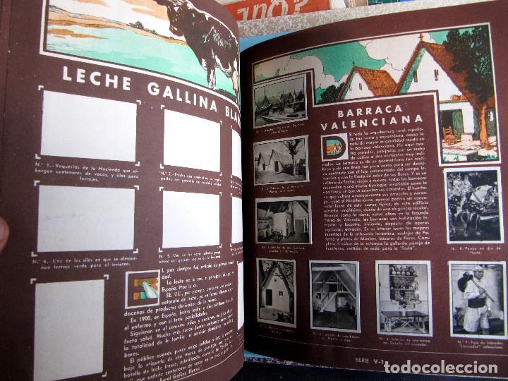 Coleccionismo Álbum: 2º ALBUM GALLINA BLANCA. COMPLETO CON TODOS LOS CROMOS EDITADOS, 1949. - Foto 5 - 220941388