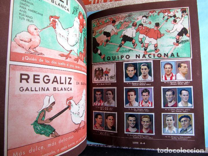 Coleccionismo Álbum: 2º ALBUM GALLINA BLANCA. COMPLETO CON TODOS LOS CROMOS EDITADOS, 1949. - Foto 6 - 220941388