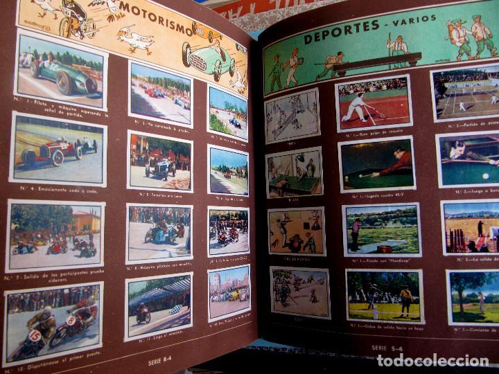 Coleccionismo Álbum: 2º ALBUM GALLINA BLANCA. COMPLETO CON TODOS LOS CROMOS EDITADOS, 1949. - Foto 8 - 220941388