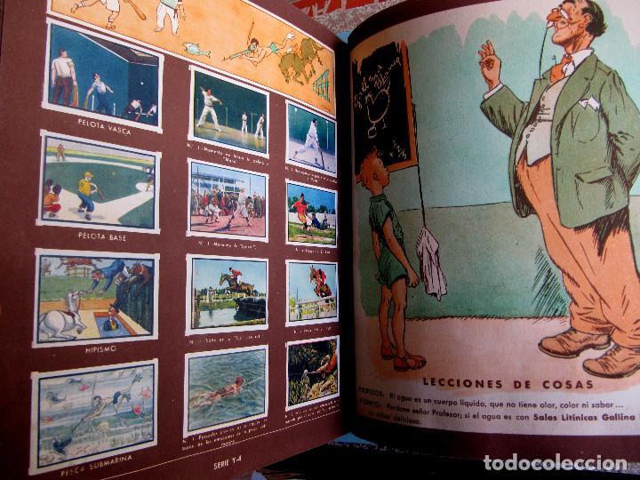 Coleccionismo Álbum: 2º ALBUM GALLINA BLANCA. COMPLETO CON TODOS LOS CROMOS EDITADOS, 1949. - Foto 9 - 220941388