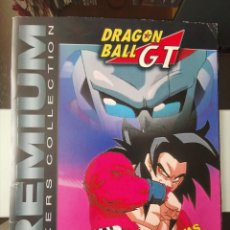 Coleccionismo Álbum: ALBUM DRAGON BALL GT PREMIUM STICKERS COLLECTION PANINI COMPLETO CON PÓSTER. Lote 220962070