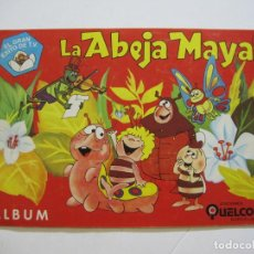Coleccionismo Álbum: LA ABEJA MAYA-EDICIONES QUELCOM-ALBUM COMPLETO-VER FOTOS-(K-704). Lote 221155367