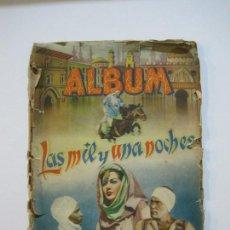 Coleccionismo Álbum: LAS MIL Y UNA NOCHES-EDITORIAL GRAFIDEA-ALBUM CASI COMPLETO-VER FOTOS-(V-22.340). Lote 221157835