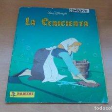 Coleccionismo Álbum: ENVIO CON TC 5€ ALBUM COMPLETO LA CENICIENTA WALT DISNEY COLECCIONES PANINI. Lote 221245068