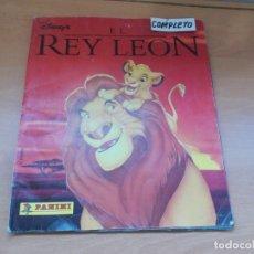 Coleccionismo Álbum: ENVIO CON TC 5€ ALBUM COMPLETO EL REY LEON WALT DISNEY COLECCIONES PANINI. Lote 221245615
