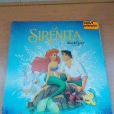 Coleccionismo Álbum: ENVIO CON TC 5€ ALBUM COMPLETO LA SIRENITA WALT DISNEY COLECCIONES PANINI. Lote 221245953
