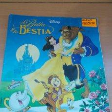 Coleccionismo Álbum: ENVIO CON TC 5€ ALBUM COMPLETO LA BELLA Y LA BESTIA WALT DISNEY COLECCIONES PANINI. Lote 221246107