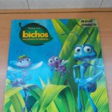 Coleccionismo Álbum: ENVIO CON TC 5€ ALBUM COMPLETO BICHOS,UNA AVENTURA EN MINIATURA WALT DISNEY COLECCIONES PANINI. Lote 221246323