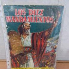 Coleccionismo Álbum: ENVIO CON TC 5€ ALBUM COMPLETO LOS DIEZ MANDAMIENTOS 1959 PRIMERA SERIE. Lote 221246933