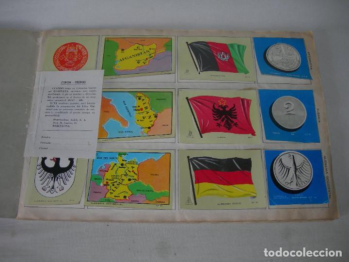 Coleccionismo Álbum: ÁLBUM COMPLETO COLECCIÓN UNIVERSAL DE EDITORIAL ALES AÑO 1962 - BANDERAS, ESCUDOS MONEDAS Y MAPAS - - Foto 2 - 221264458
