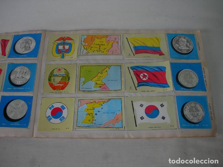 Coleccionismo Álbum: ÁLBUM COMPLETO COLECCIÓN UNIVERSAL DE EDITORIAL ALES AÑO 1962 - BANDERAS, ESCUDOS MONEDAS Y MAPAS - - Foto 5 - 221264458