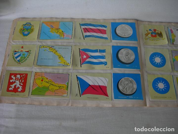 Coleccionismo Álbum: ÁLBUM COMPLETO COLECCIÓN UNIVERSAL DE EDITORIAL ALES AÑO 1962 - BANDERAS, ESCUDOS MONEDAS Y MAPAS - - Foto 6 - 221264458