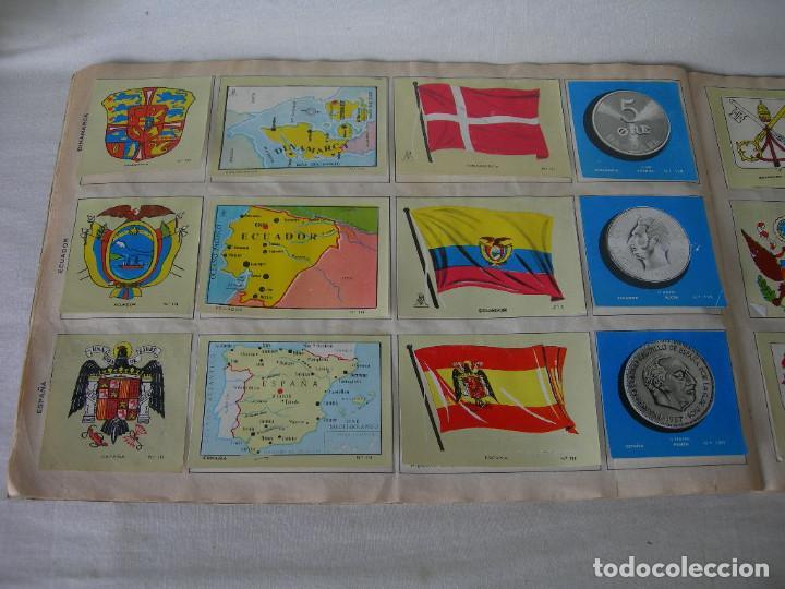 Coleccionismo Álbum: ÁLBUM COMPLETO COLECCIÓN UNIVERSAL DE EDITORIAL ALES AÑO 1962 - BANDERAS, ESCUDOS MONEDAS Y MAPAS - - Foto 7 - 221264458