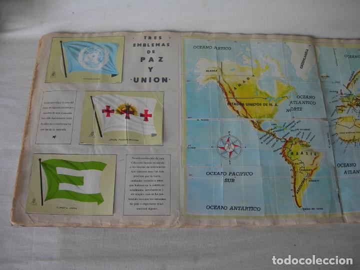 Coleccionismo Álbum: ÁLBUM COMPLETO COLECCIÓN UNIVERSAL DE EDITORIAL ALES AÑO 1962 - BANDERAS, ESCUDOS MONEDAS Y MAPAS - - Foto 11 - 221264458