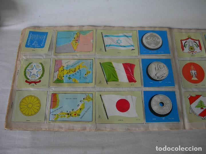 Coleccionismo Álbum: ÁLBUM COMPLETO COLECCIÓN UNIVERSAL DE EDITORIAL ALES AÑO 1962 - BANDERAS, ESCUDOS MONEDAS Y MAPAS - - Foto 13 - 221264458