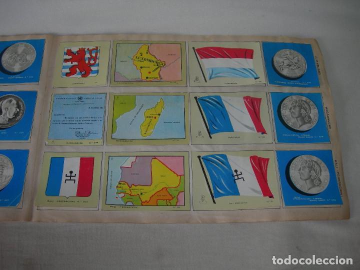 Coleccionismo Álbum: ÁLBUM COMPLETO COLECCIÓN UNIVERSAL DE EDITORIAL ALES AÑO 1962 - BANDERAS, ESCUDOS MONEDAS Y MAPAS - - Foto 14 - 221264458