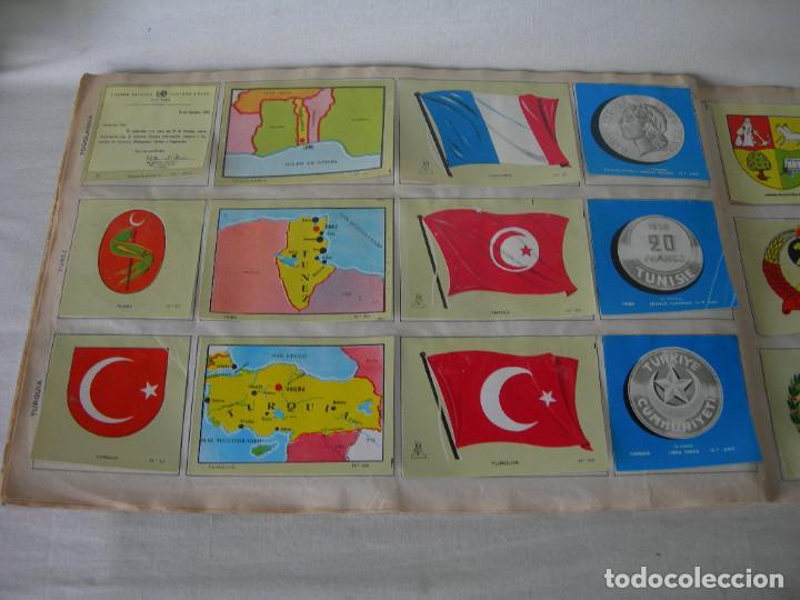 Coleccionismo Álbum: ÁLBUM COMPLETO COLECCIÓN UNIVERSAL DE EDITORIAL ALES AÑO 1962 - BANDERAS, ESCUDOS MONEDAS Y MAPAS - - Foto 15 - 221264458