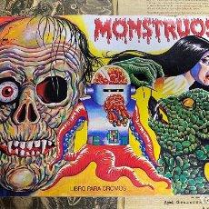 Coleccionismo Álbum: ALBUM CROMOS MONSTRUOS MUNDICROM COMPLETO BE MONSTERS CARDS. Lote 221276846