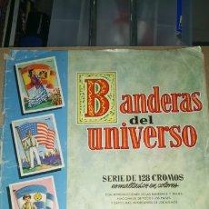 Coleccionismo Álbum: ÁLBUM BANDERAS DEL UNIVERSO. EDITORIAL BRUGUERA. AÑOS 60/70. PVP 3 PESETAS.. Lote 221328305