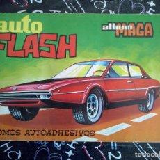 Collectionnisme Album: MAGA - ALBUM COMPLETO AUTO FLASH ( 298 CROMOS AUTOADHESIVOS ) . 10 PTS.. Lote 221334896