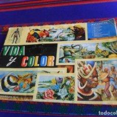 Coleccionismo Álbum: GRAN PRECIO, VIDA Y COLOR 1 COMPLETO 380 CROMOS. ÁLBUMES ESPAÑOLES 1967.. Lote 221339672
