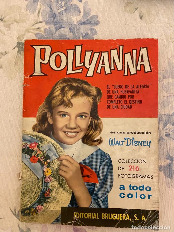POLLYANNA COMPLETO PERO BASTANTES CROMOS PICADOS SE VENDEN SUELTOS (Coleccionismo - Cromos y Álbumes - Álbumes Completos)