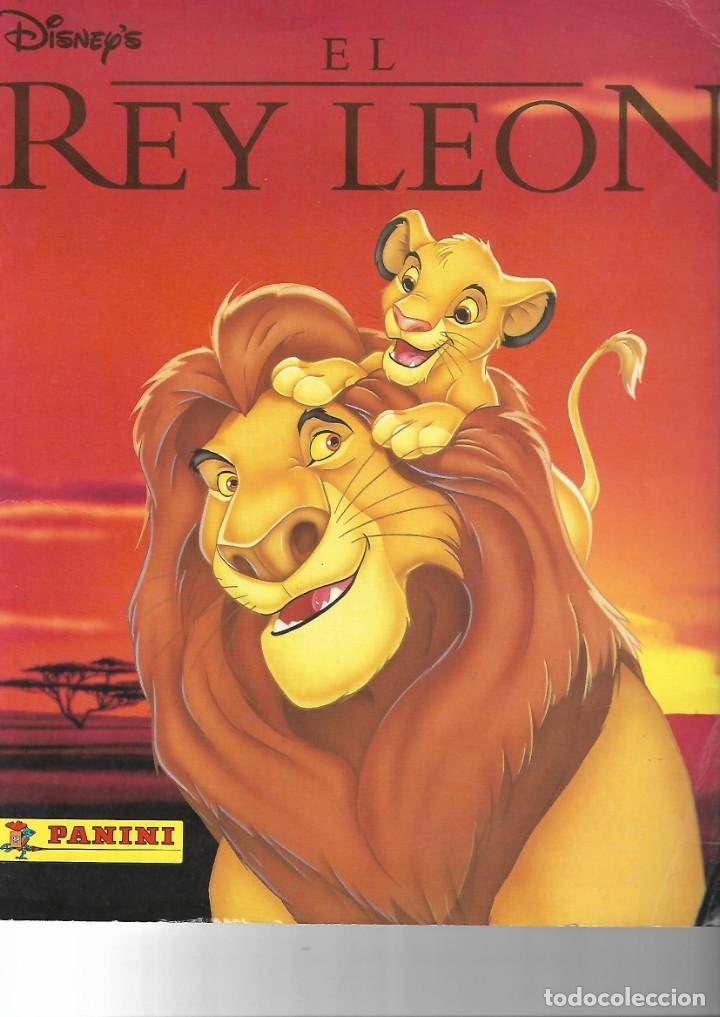 EL REY LEON-COMPLETO (Coleccionismo - Cromos y Álbumes - Álbumes Completos)