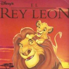 Coleccionismo Álbum: EL REY LEON-COMPLETO. Lote 221453341