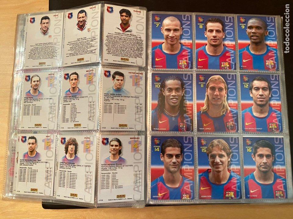 Coleccionismo Álbum: ALBUM DE CROMOS COMPLETO BARÇA CAMPIÓ 2004 2005 DE 142 CROMOS (LOS 3 DE MESSI INCLUIDOS) - Foto 5 - 221484170