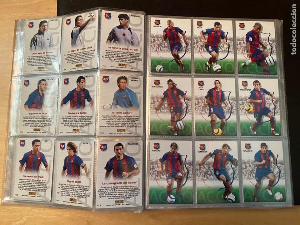 Coleccionismo Álbum: ALBUM DE CROMOS COMPLETO BARÇA CAMPIÓ 2004 2005 DE 142 CROMOS (LOS 3 DE MESSI INCLUIDOS) - Foto 8 - 221484170