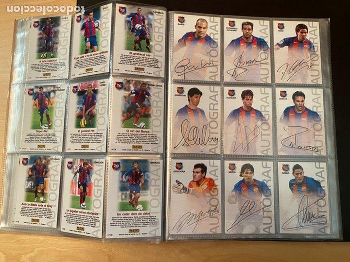 Coleccionismo Álbum: ALBUM DE CROMOS COMPLETO BARÇA CAMPIÓ 2004 2005 DE 142 CROMOS (LOS 3 DE MESSI INCLUIDOS) - Foto 12 - 221484170