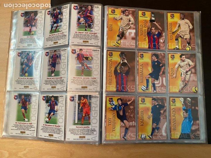 Coleccionismo Álbum: ALBUM DE CROMOS COMPLETO BARÇA CAMPIÓ 2004 2005 DE 142 CROMOS (LOS 3 DE MESSI INCLUIDOS) - Foto 13 - 221484170