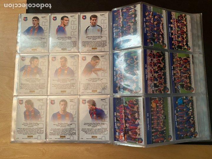 Coleccionismo Álbum: ALBUM DE CROMOS COMPLETO BARÇA CAMPIÓ 2004 2005 DE 142 CROMOS (LOS 3 DE MESSI INCLUIDOS) - Foto 17 - 221484170
