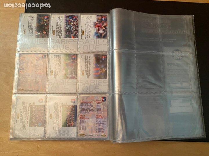 Coleccionismo Álbum: ALBUM DE CROMOS COMPLETO BARÇA CAMPIÓ 2004 2005 DE 142 CROMOS (LOS 3 DE MESSI INCLUIDOS) - Foto 19 - 221484170