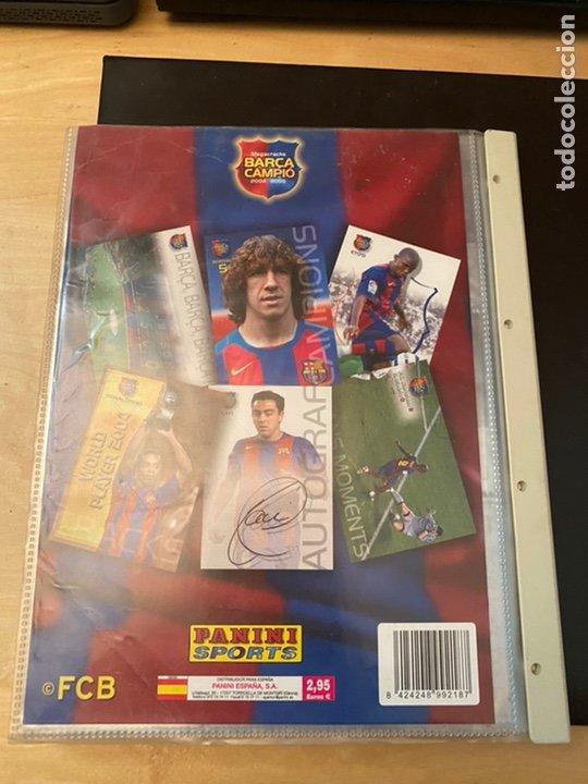Coleccionismo Álbum: ALBUM DE CROMOS COMPLETO BARÇA CAMPIÓ 2004 2005 DE 142 CROMOS (LOS 3 DE MESSI INCLUIDOS) - Foto 21 - 221484170