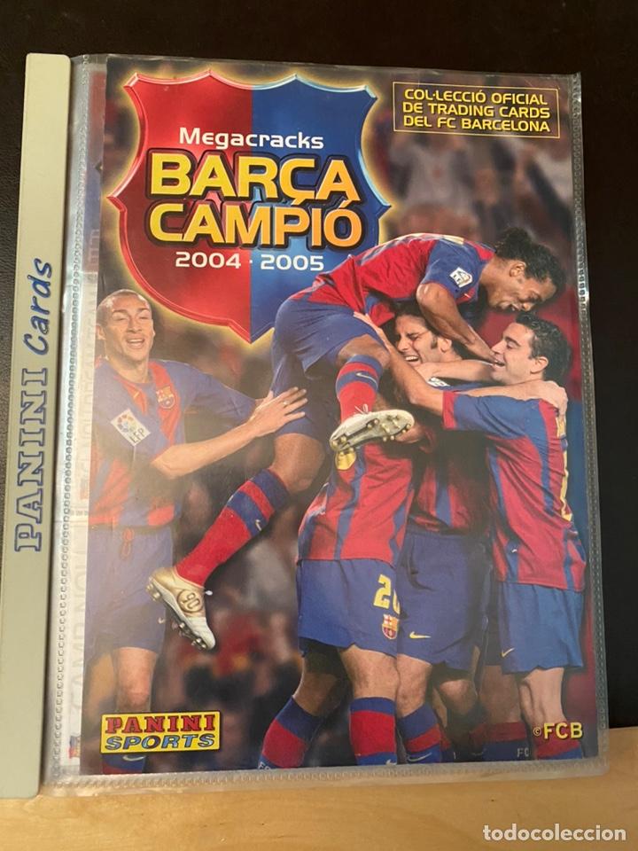 Coleccionismo Álbum: ALBUM DE CROMOS COMPLETO BARÇA CAMPIÓ 2004 2005 DE 142 CROMOS (LOS 3 DE MESSI INCLUIDOS) - Foto 2 - 221484170