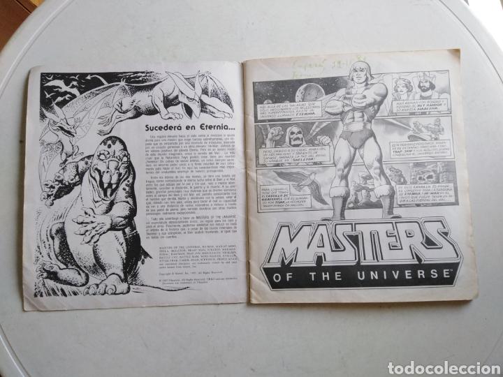 Coleccionismo Álbum: Álbum completo masters of the universe, los amos del universo, 1983 - Foto 2 - 221567810